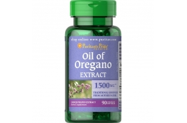 Puritan's Pride Oil of oregano extract - 1500 mg, 90 kaps. żelowych