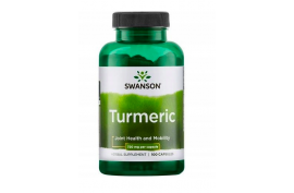 Turmeric (kurkuma) Swanson 720 mg, 100 kapsułek