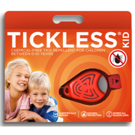 Tickless Kid - bezpieczna ochrona przed kleszczami