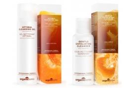 Zestaw do oczyszczania twarzy Żel+Peeling Organic Series