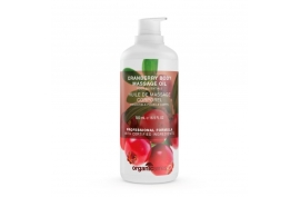 Naturalny olejek do ciała o zapachu żurawiny 500 ml, Organic Series