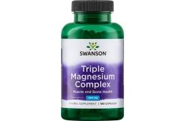 Swanson Triple Magnesium Complex 100 kaps.