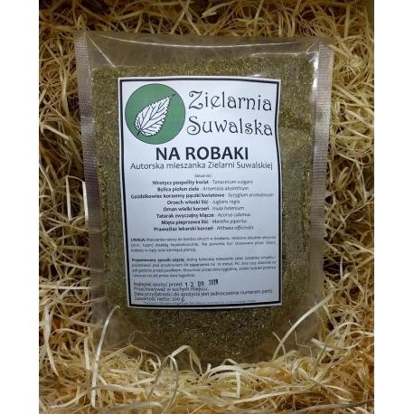 Na robaki - mieszanka ziół na pasożyty 200 g, Zielarnia Suwalska