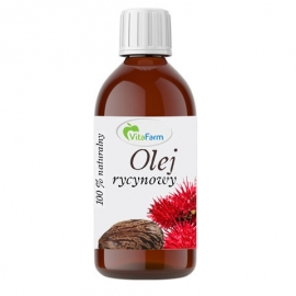 Olej rycynowy 100% naturalny 500 ml, VitaFarm