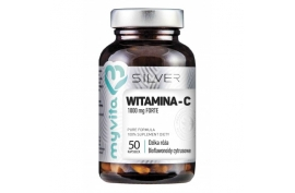 Witamina C FORTE z bioflawonoidami i ekstraktem z dzikiej róży MyVita Silver 50 kaps.