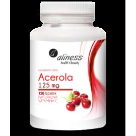 Acerola 125 mg, 120 tabletek Aliness