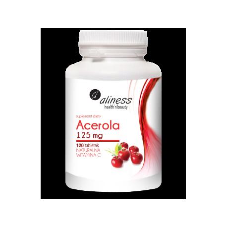 Acerola 125 mg, 120 tabletek Alliness