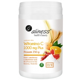 Witamina C 1000mg Plus Aliness, proszek 250 g