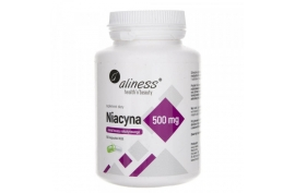Niacyna 500 mg 100 kapsułek, Aliness