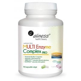 Multi Enzyme Complex Pro 90 kapsułek Wege Aliness