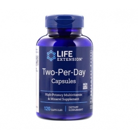 Two Per Day 120 kapsułek, Life Extension