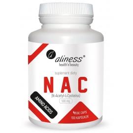 NAC N-Acetyl-L-Cysteine 500 mg, 100 kapsułek, Aliness