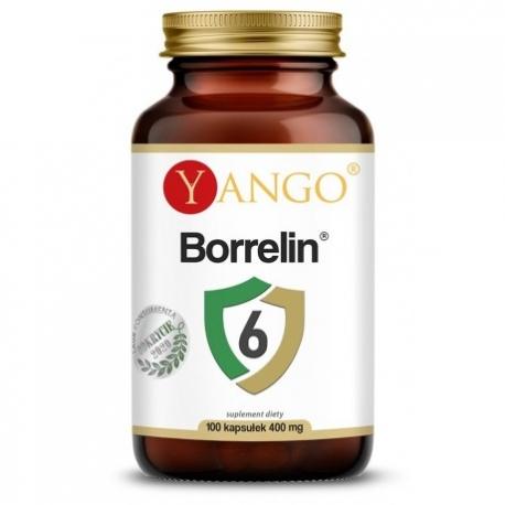 Borrelin 6 100 kapsułek, Yango