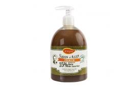 Mydło Aleppo Premium w płynie 15% oleju laurowego BIO, 500 ml, Alepia