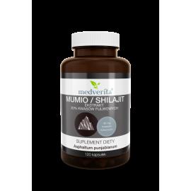 Mumio ekstrakt 20% kwasów fulwowych, 120 kapsułek