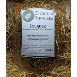 Żołądek - mieszanka ziół na dolegliwości żołądkowe 250 g, Zielarnia Suwalska