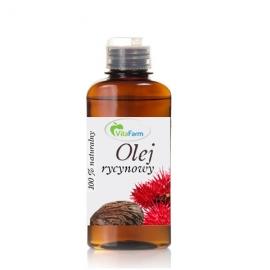 Olej rycynowy 100% naturalny 100 ml, VitaFarm