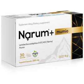 Narum + Mumio 200 mg, 30 kapsułek, probiotyk