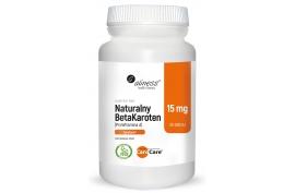 Betakaroten naturalny (prowitamina A) 100 tabletek, Aliness