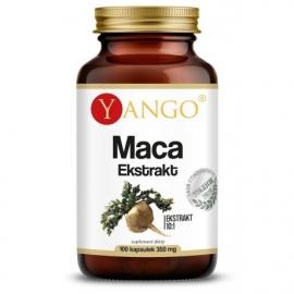Korzeń Maca - ekstrakt 10:1, 100 kapsułek, Yango